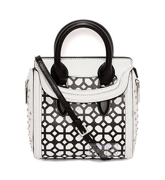 Модные сумки Alexander McQueen весна-лето 2014 фото №15