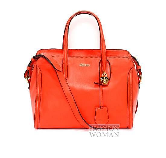 Модные сумки Alexander McQueen весна-лето 2014 фото №19