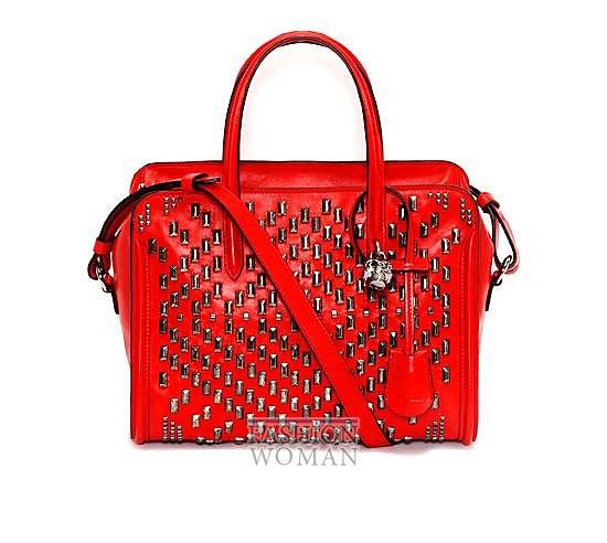 Модные сумки Alexander McQueen весна-лето 2014 фото №20