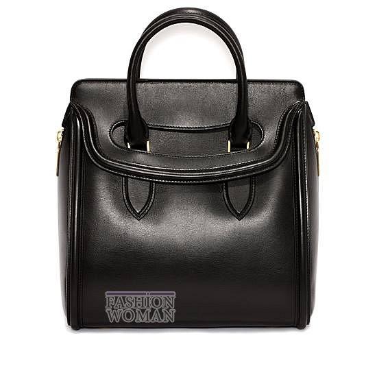 Модные сумки Alexander McQueen весна-лето 2014 фото №3