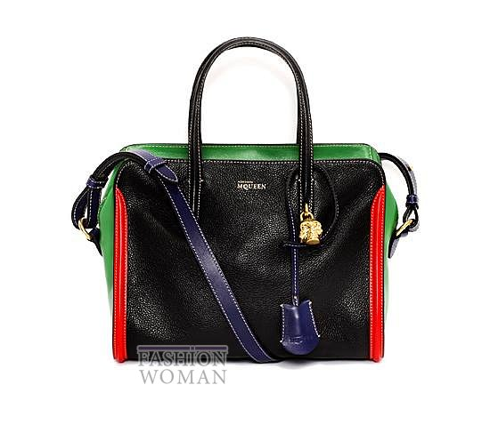 Модные сумки Alexander McQueen весна-лето 2014 фото №21