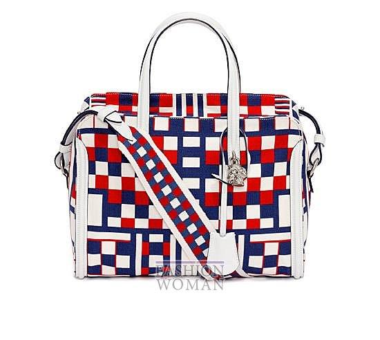 Модные сумки Alexander McQueen весна-лето 2014 фото №22
