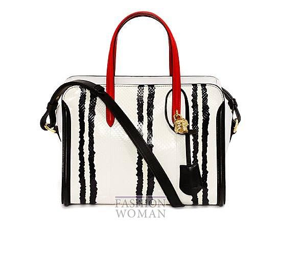Модные сумки Alexander McQueen весна-лето 2014 фото №23