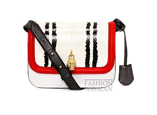 Модные сумки Alexander McQueen весна-лето 2014 фото №26