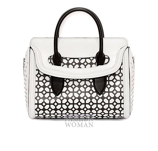Модные сумки Alexander McQueen весна-лето 2014 фото №4
