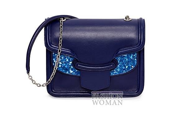 Модные сумки Alexander McQueen весна-лето 2014 фото №35