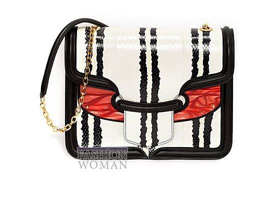 Модные сумки Alexander McQueen весна-лето 2014 фото №36