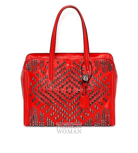 Модные сумки Alexander McQueen весна-лето 2014 фото №5