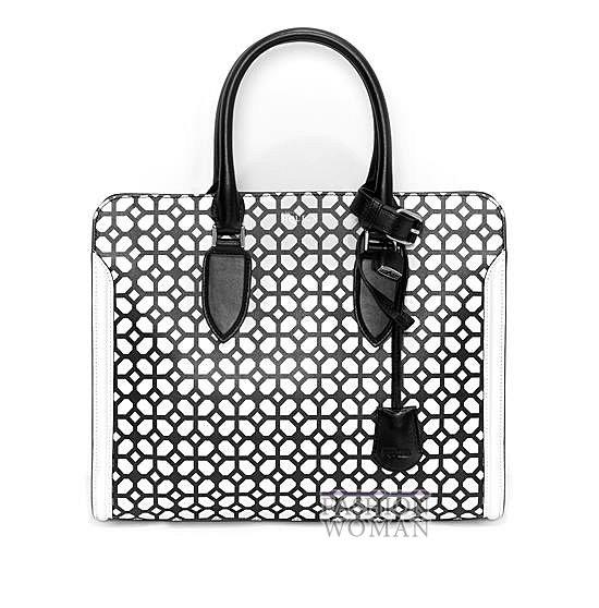 Модные сумки Alexander McQueen весна-лето 2014 фото №6