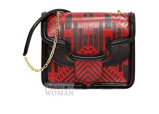 Модные сумки Alexander McQueen весна-лето 2014 фото №10