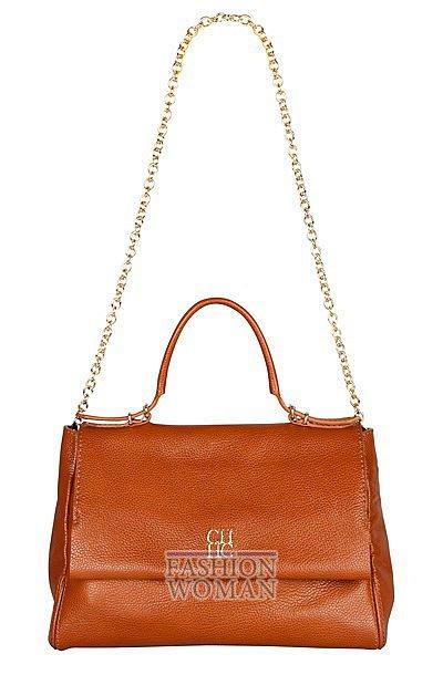 Модные сумки Carolina Herrera осень-зима 2012-2013 фото №5