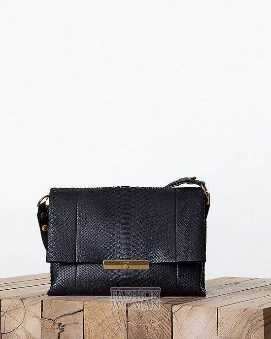 Модные сумки Celine осень-зима 2013-2014 фото №23