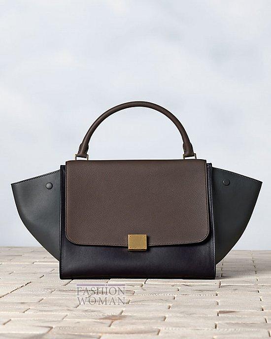 Модные сумки Celine осень-зима 2013-2014 фото №46