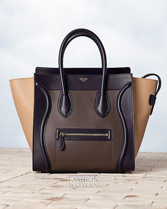 Модные сумки Celine осень-зима 2013-2014 фото №52