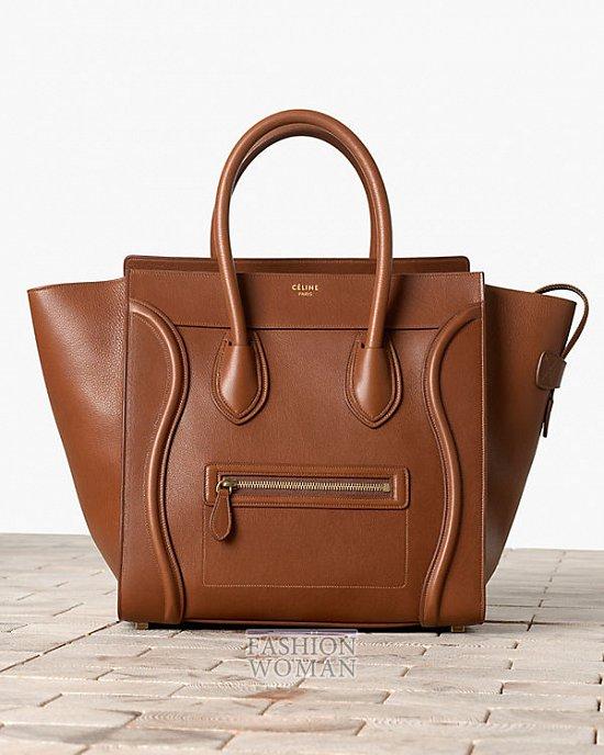 Модные сумки Celine осень-зима 2013-2014 фото №53
