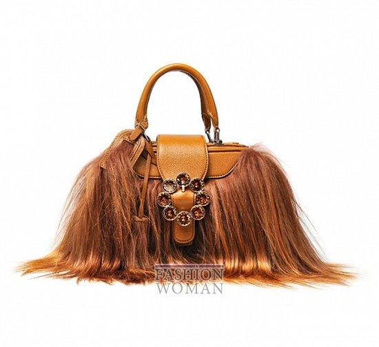 Модные сумки осень-зима 2012-2013 фото №3