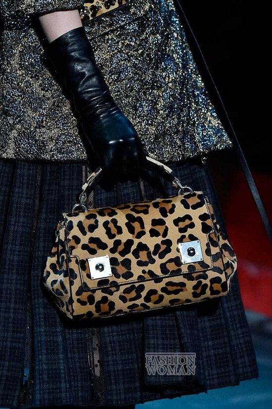Модные сумки осень-зима 2015-2016  фото №29