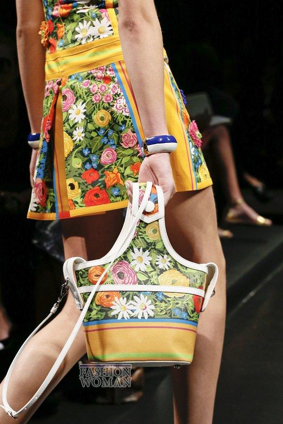 Модные сумки весна-лето 2013 фото №36