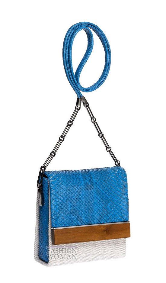 Модные сумки весна-лето 2013 фото №43