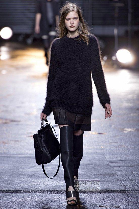 Модные свитера осень-зима 2013-2014 фото №23