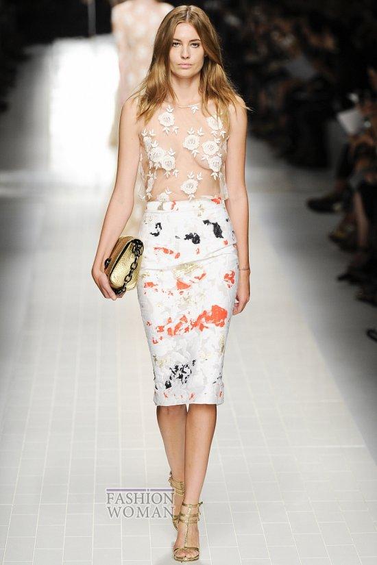 Модные юбки весна-лето 2014 фото №2