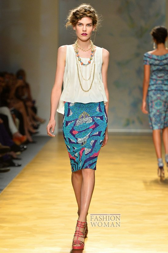 Модные юбки весна-лето 2014 фото №7