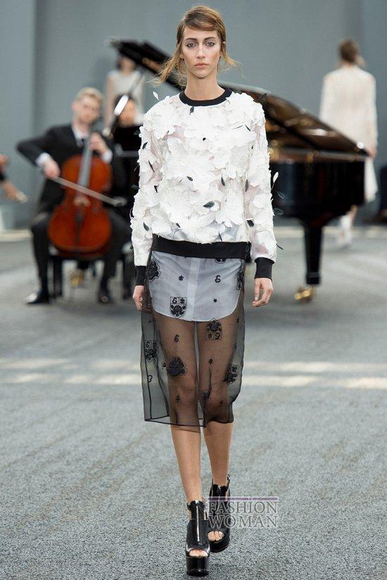 Модные юбки весна-лето 2014 фото №15