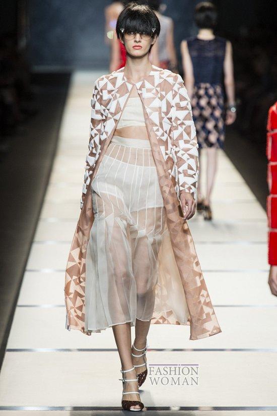 Модные юбки весна-лето 2014 фото №16