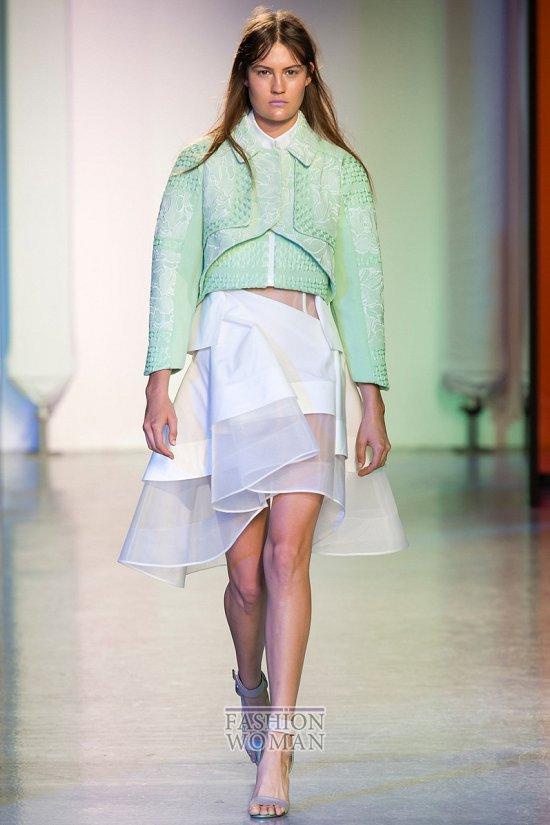 Модные юбки весна-лето 2014 фото №19