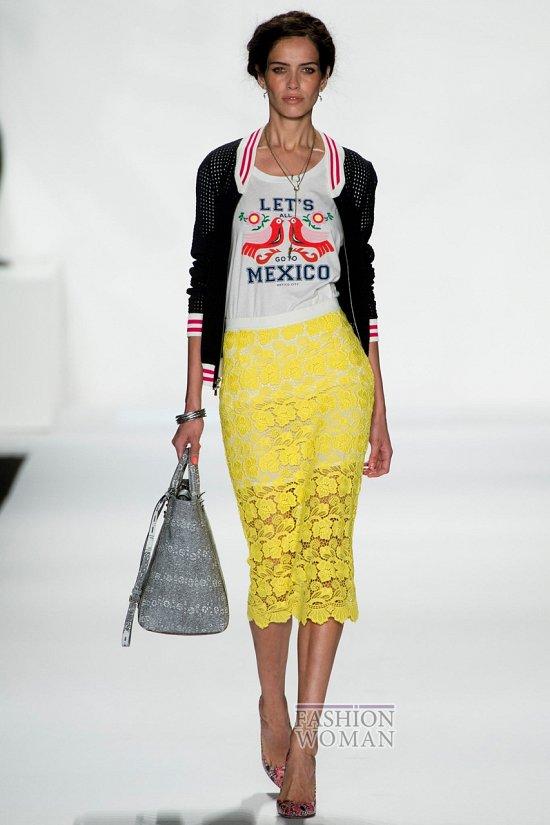 Модные юбки весна-лето 2014 фото №10