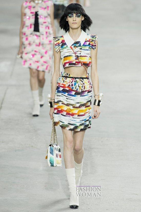 Модные юбки весна-лето 2014 фото №24