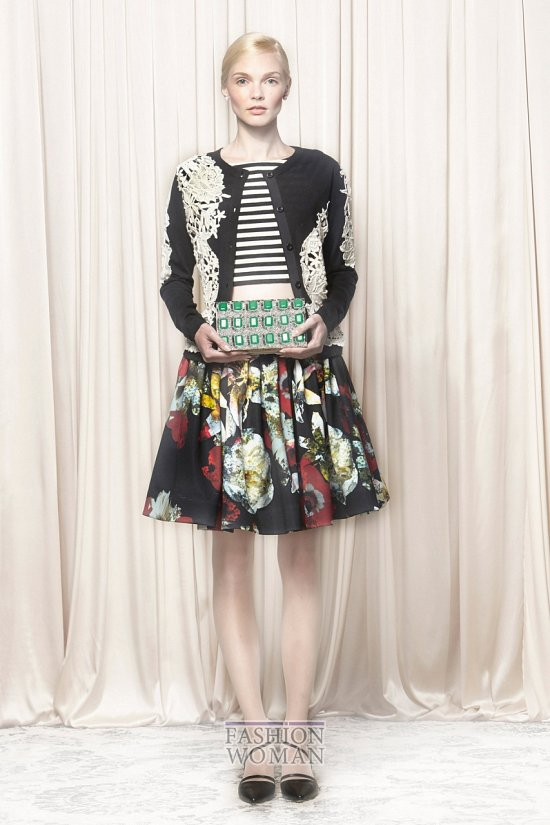 Модные юбки весна-лето 2014 фото №34