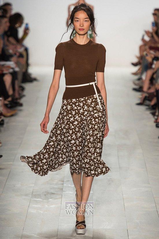 Модные юбки весна-лето 2014 фото №36
