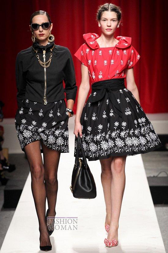 Модные юбки весна-лето 2014 фото №38