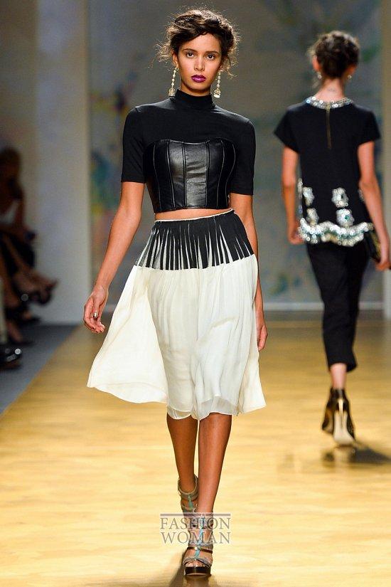 Модные юбки весна-лето 2014 фото №32