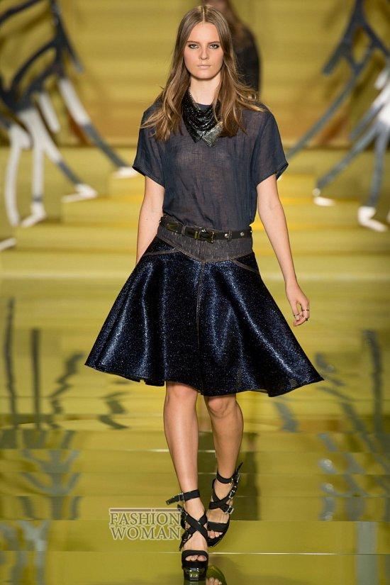 Модные юбки весна-лето 2014 фото №31