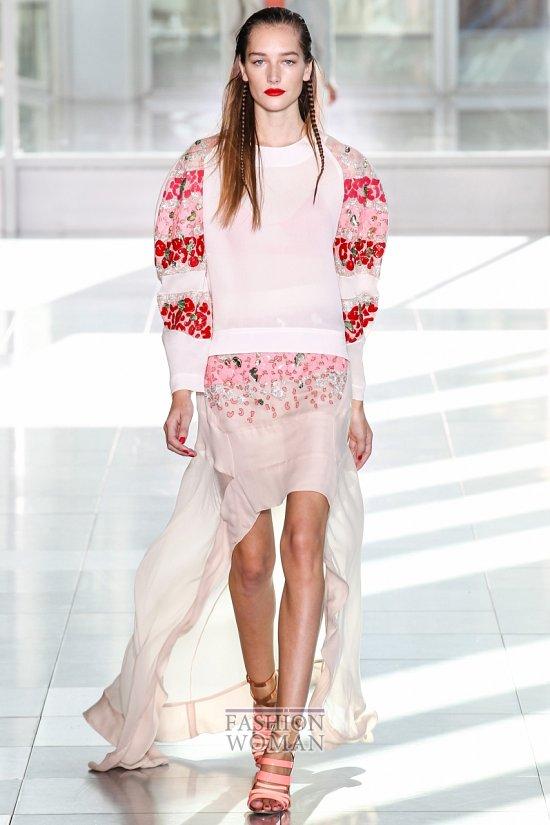 Модные юбки весна-лето 2014 фото №50