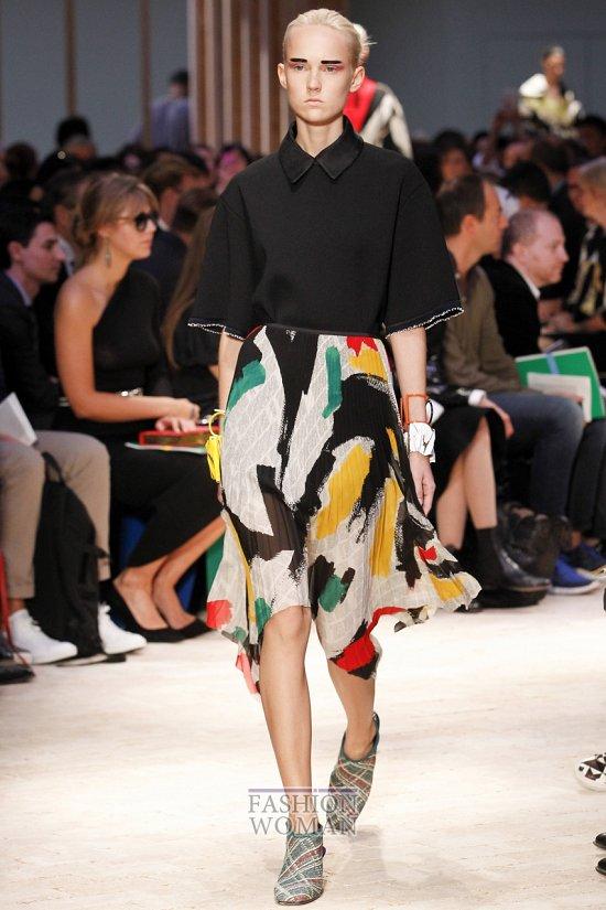 Модные юбки весна-лето 2014 фото №49