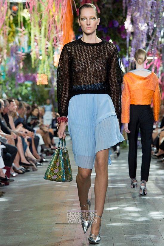 Модные юбки весна-лето 2014 фото №47