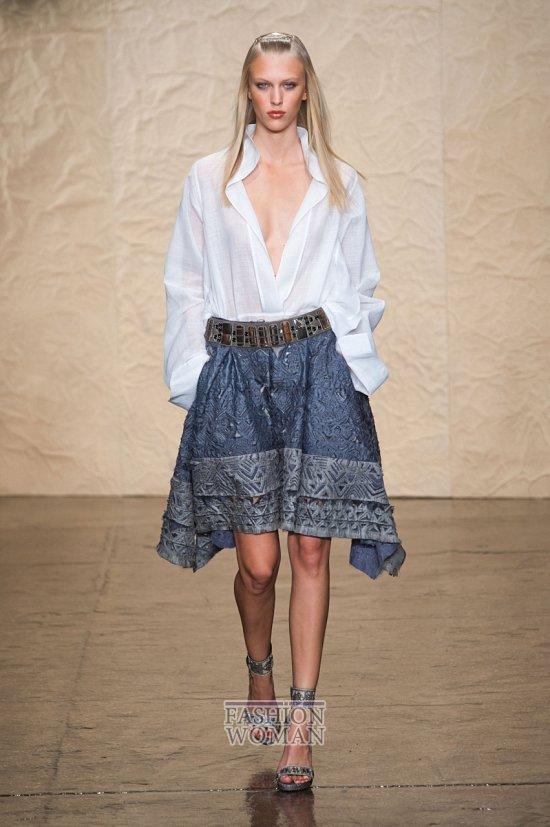 Модные юбки весна-лето 2014 фото №51