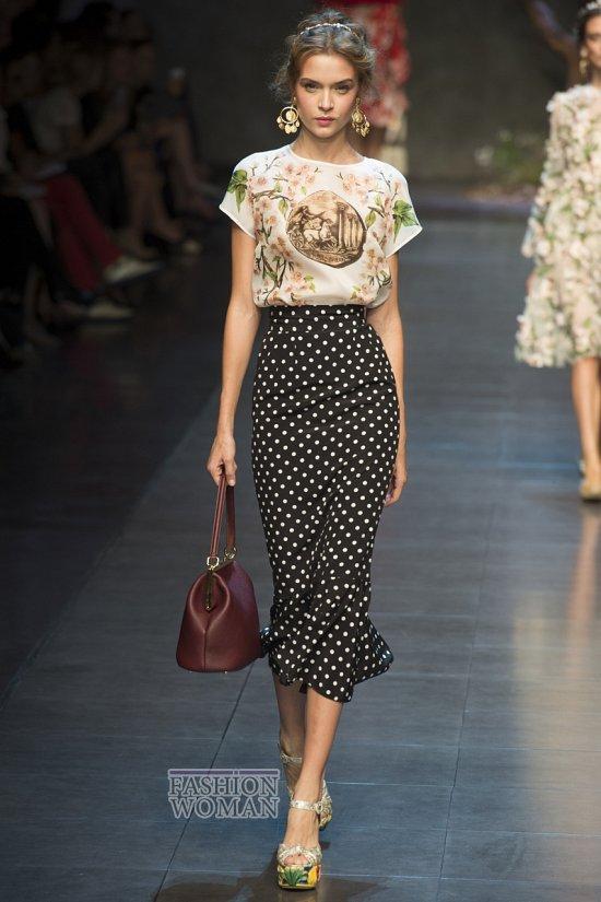 Модные юбки весна-лето 2014 фото №55