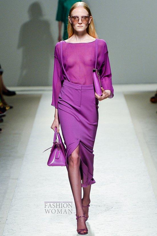 Модные юбки весна-лето 2014 фото №54