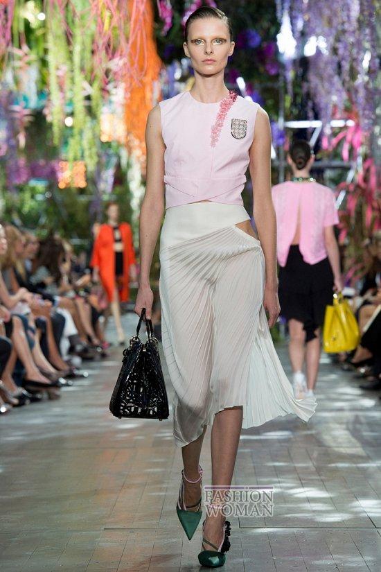 Модные юбки весна-лето 2014 фото №61