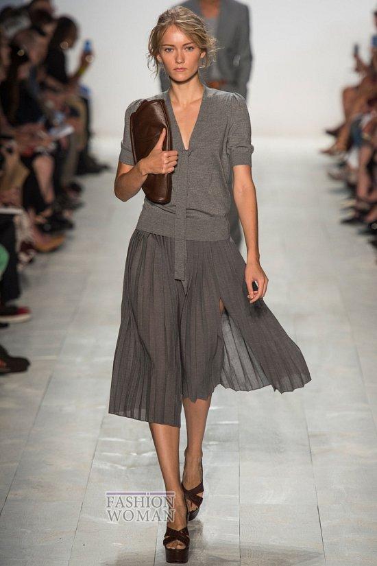 Модные юбки весна-лето 2014 фото №60