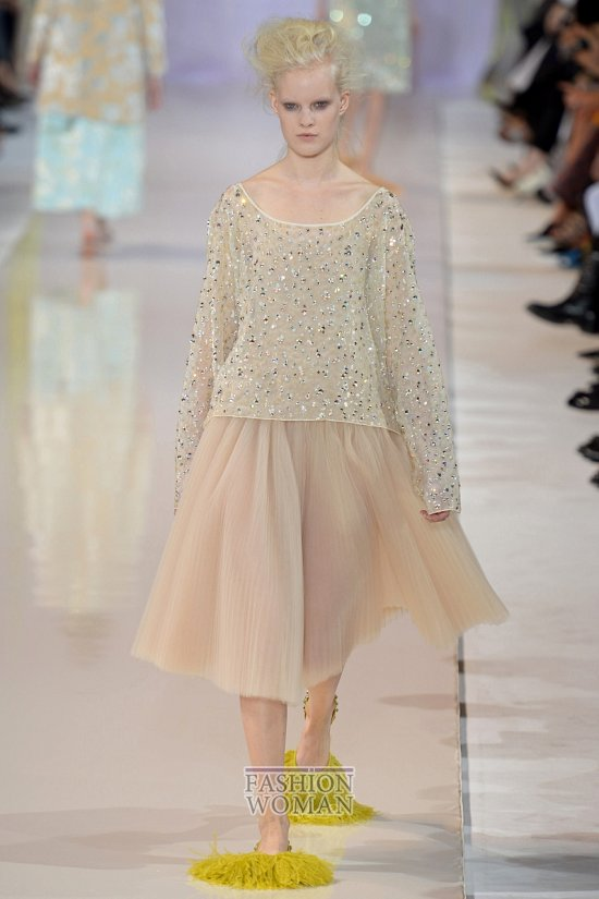 Модные юбки весна-лето 2014 фото №72