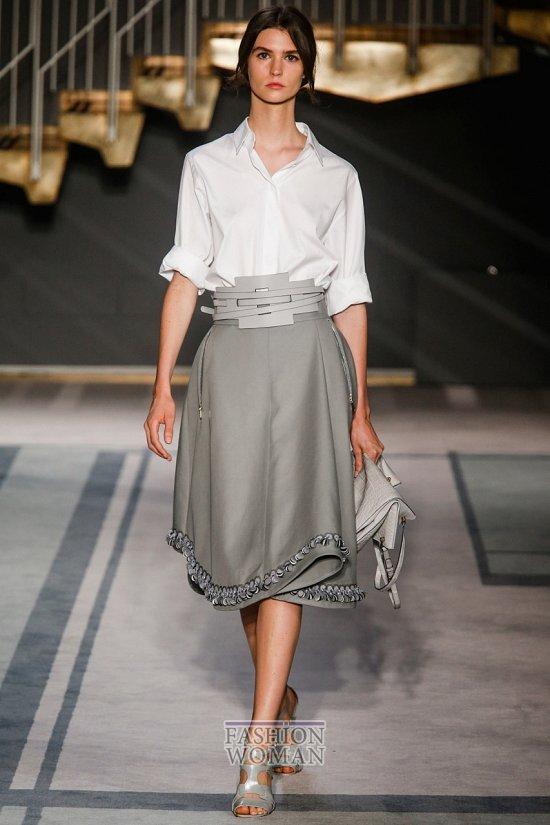 Модные юбки весна-лето 2014 фото №74