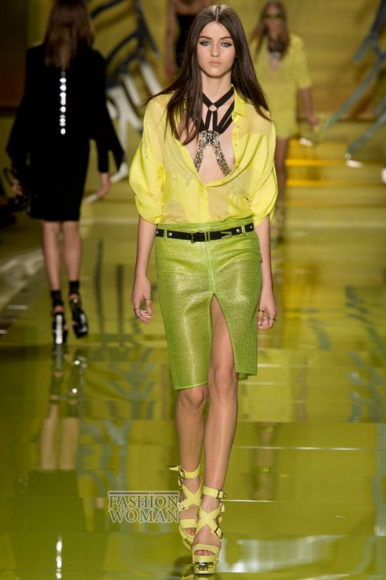 Модные юбки весна-лето 2014 фото №75