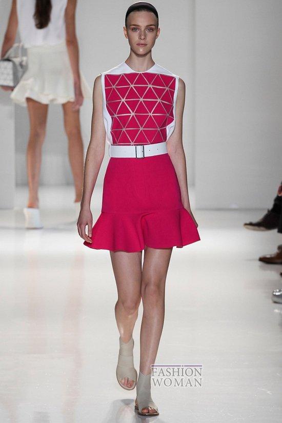 Модные юбки весна-лето 2014 фото №76