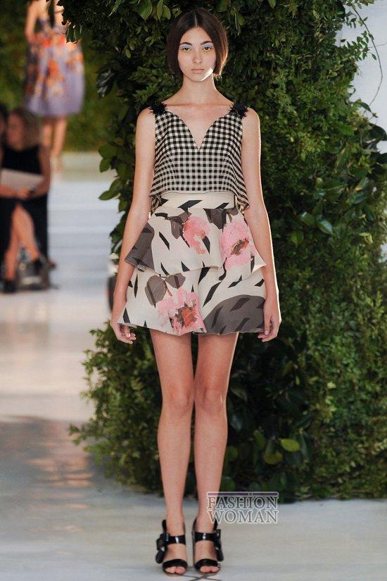 Модные юбки весна-лето 2014 фото №81