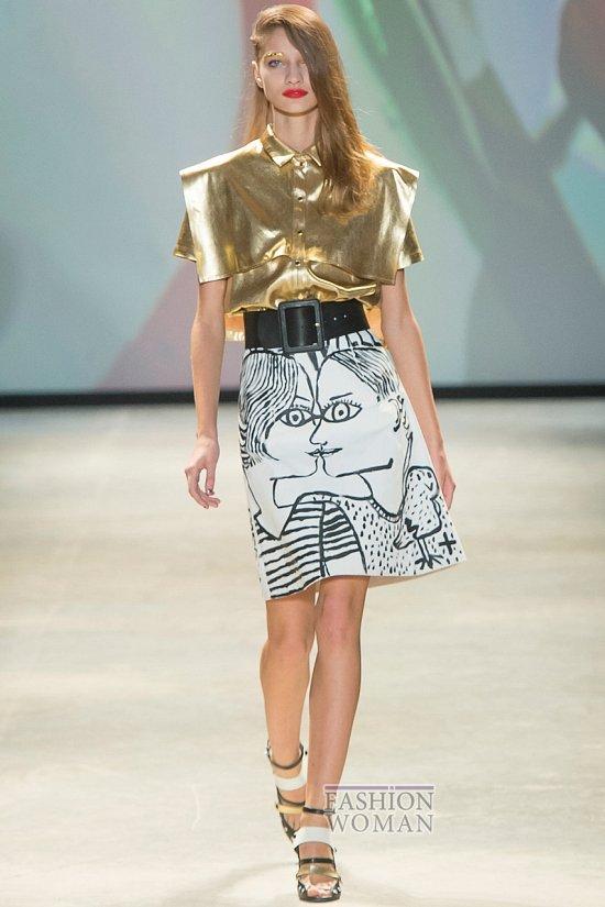 Модные юбки весна-лето 2014 фото №83